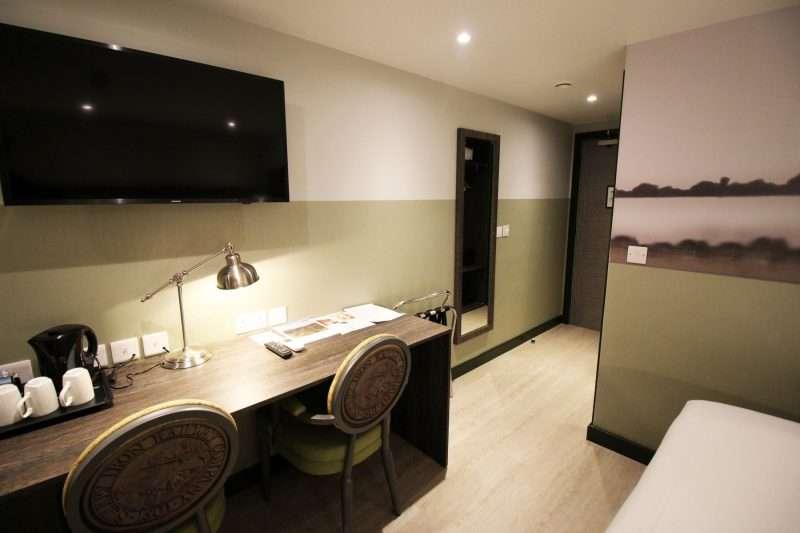 desk in room at The Croydon Aparthotel