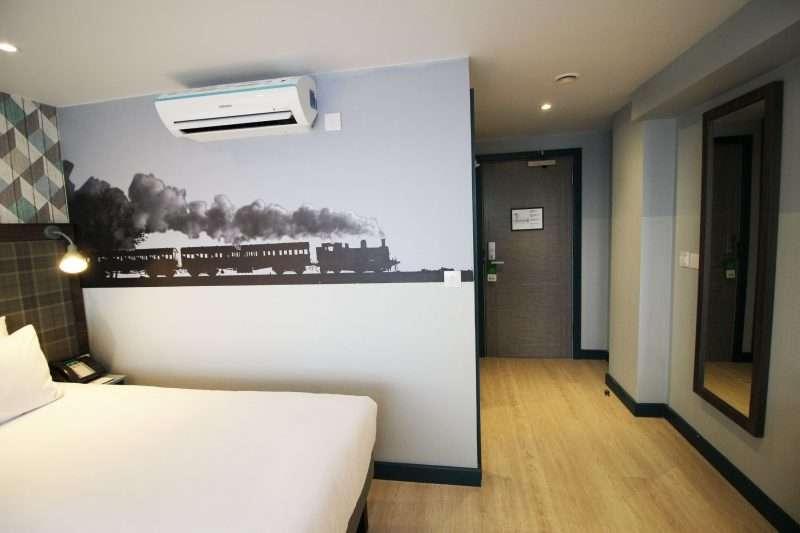 Single room at The London Croydon Aparthotel