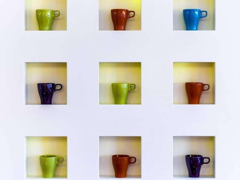 hotel breakfast cups